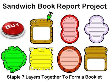 Pizza box book reports